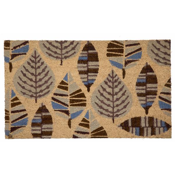"""Paillasson en fibre de coco multi-feuilles, 18"""" x 30"""""""