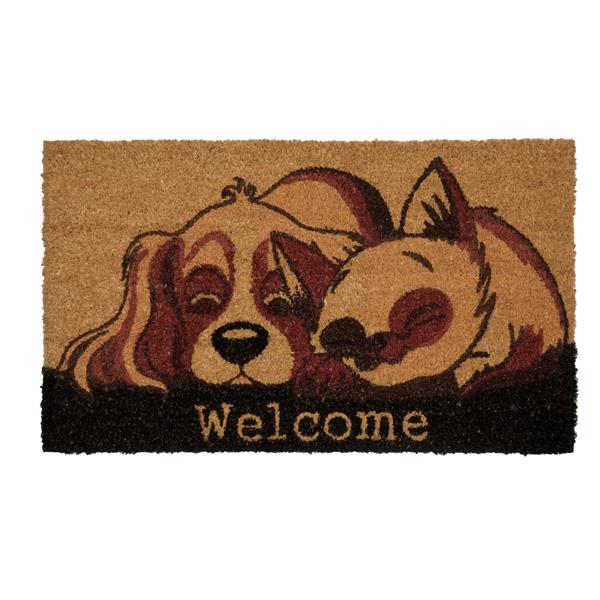 Technoflex 18-in x 30-in Snuggling Dog and Cat Printed Coco Door