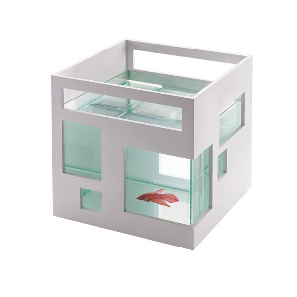 Umbra White 7.5-in x 7.5-in Fishbowl