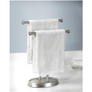 Porte-serviette de comptoir, nickel