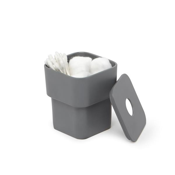 Umbra Decorative Box with Removable Lid - Charcoal