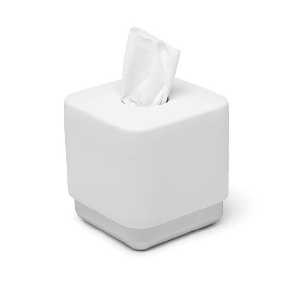 Umbra Junip Chrome/White Tissue Cover