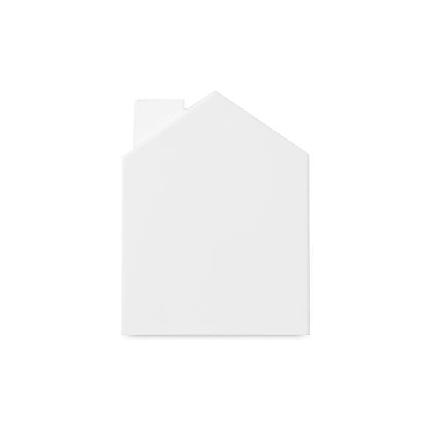 Couvre-boîte à mouchoirs Casa, blanc