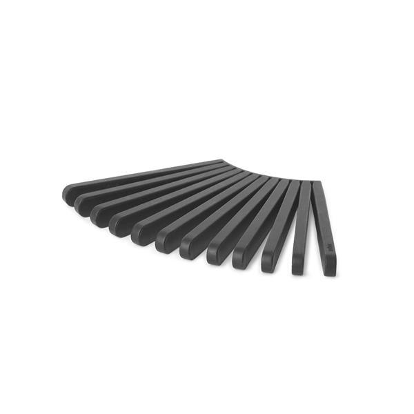 Umbra Fanfare Trivet 2.91-In x 4.13-In x 0.51-In Black (2 Pack)
