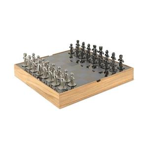 Umbra 14-in x 14-in Natural Buddy Chess Set
