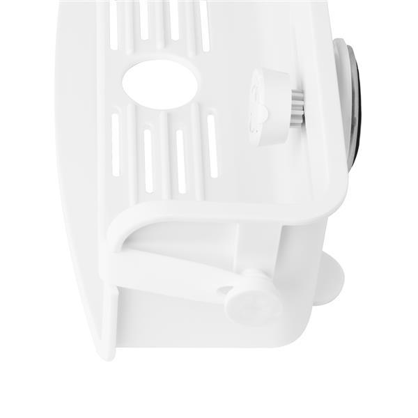 Panier de douche, blanc