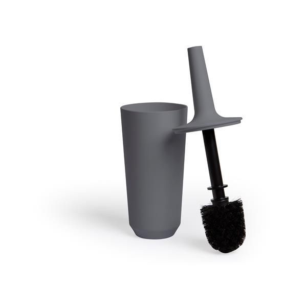Umbra Corsa Charcoal Toilet Brush