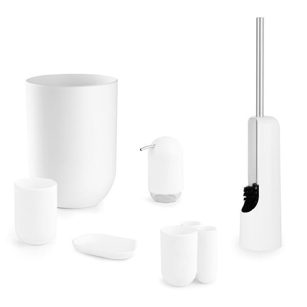 Umbra Touch White Toothbrush Holder