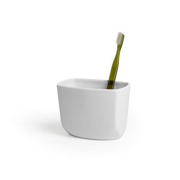 Porte-brosse à dent Corsa, blanc