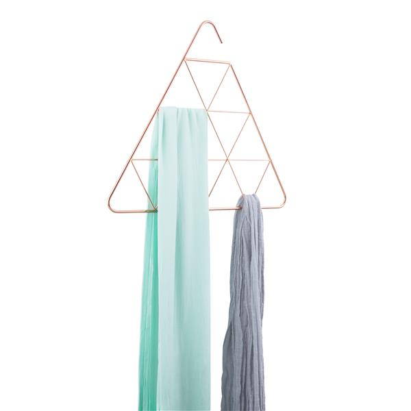 Umbra Copper Triangle Scarf Rack