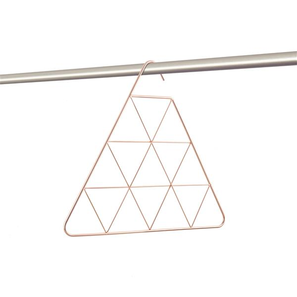 Umbra Copper Triangle Scarf Rack