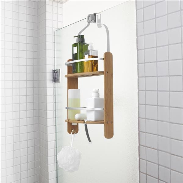 Umbra Flex 13-in Natural Shower Caddy