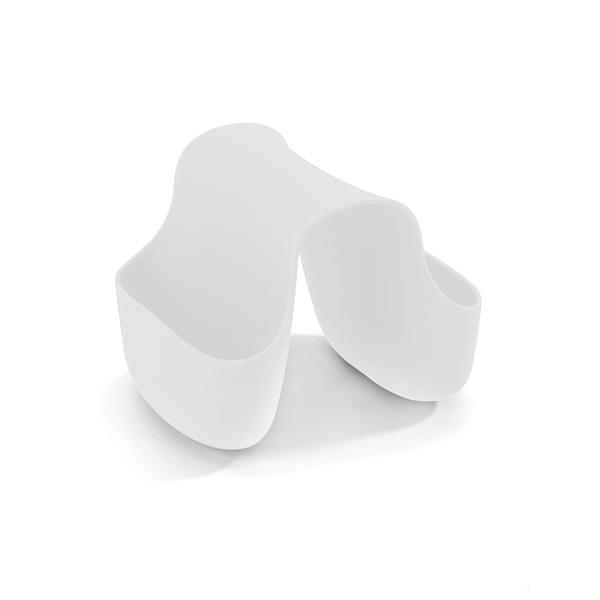Porte-éponge Saddle, blanc