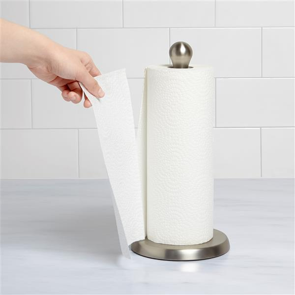 Umbra Tug 13.5-In x 6.5-In Smoke Paper Towel Holder