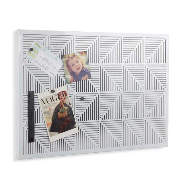 Umbra Trigon Bulletin Board - White