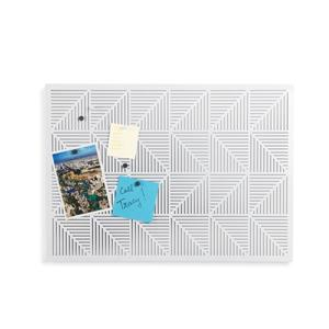 Umbra Trigon Bulletin Board - White