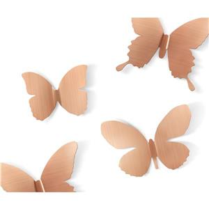 Mariposa Metal Wall Decor - Copper - 9-Piece