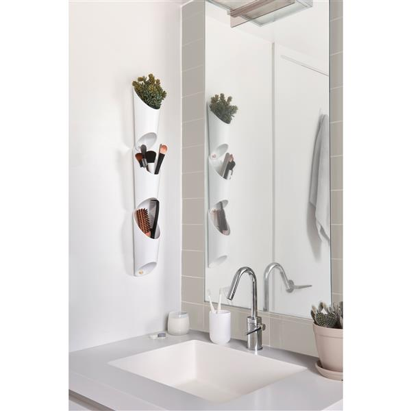 Umbra Floralink Wall Planters - White