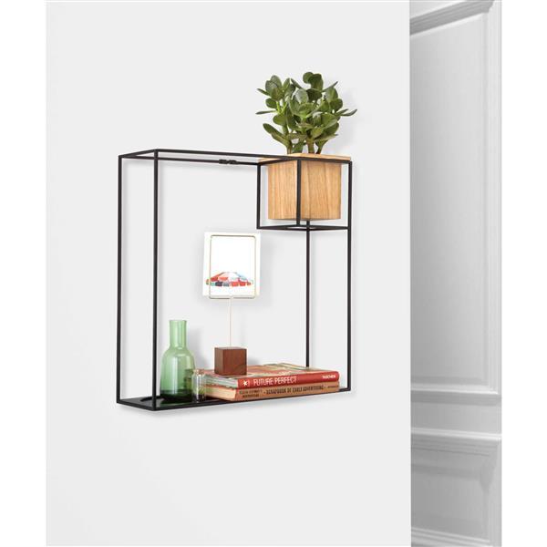 Umbra Cubist Wall Display - Large - Sand/Black