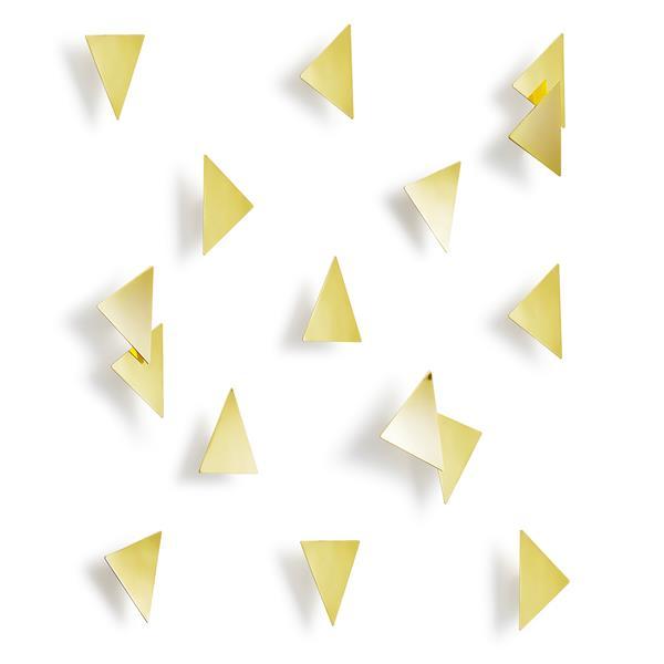 Décoration murale en triangles Confetti, 16 mcx
