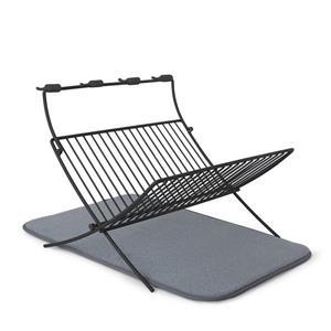 Umbra Xdry Folding Rack -  Charcoal