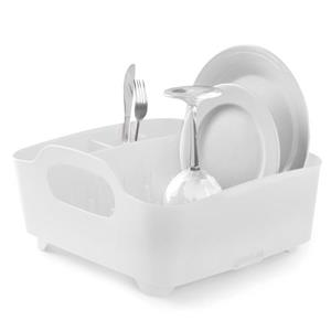 Umbra Tub Dish Rack - White