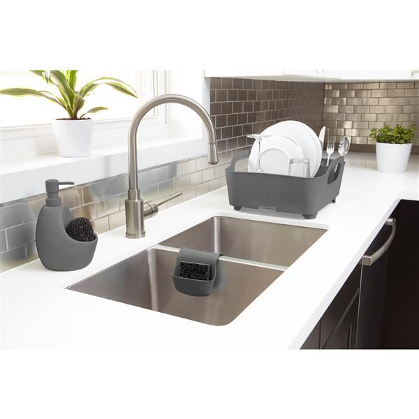 Umbra Charcoal Tub Dish Rack