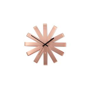 Umbra 12-in Copper Ribbon Wall Clock
