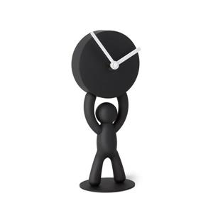 Umbra Black Buddy Desk Clock