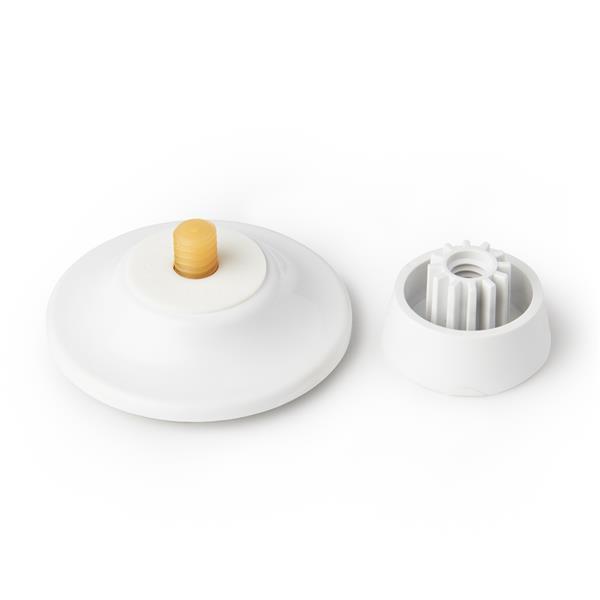 Umbra Flex White Gel-Lock Soap Dish