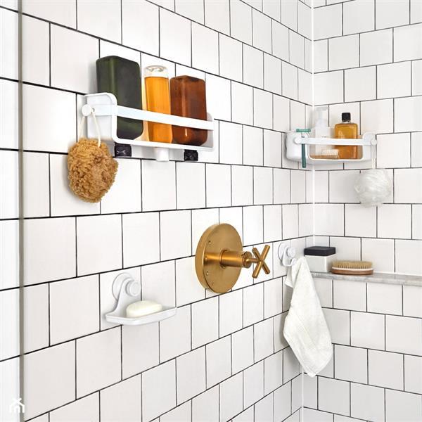 Porte-savon Flex, blanc