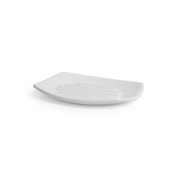Porte-savon Corsa, blanc