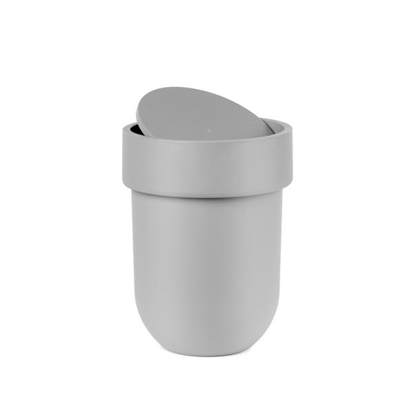 Umbra Touch Grey Waste Can