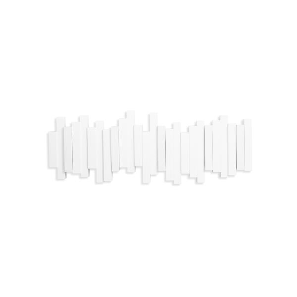 Crochets murale Sticks, blanc