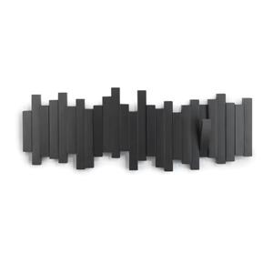 Crochets murale Sticks, noir