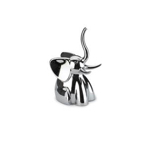 Umbra Zoola 2.80-in x 1.50-in x 1.50-in Chrome Elephant Ring Holder