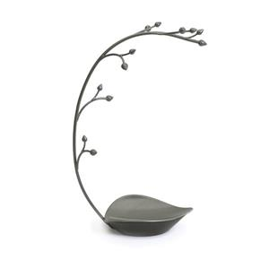 Umbra Orchid 15-in x 5.5-in x 8.75-in Metal Jewelry Stand