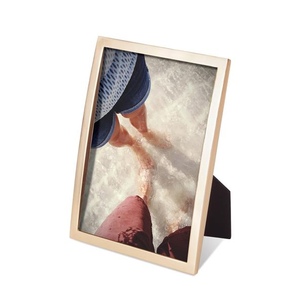 Umbra Senza 5 x 7 Matte Brass Photo Display