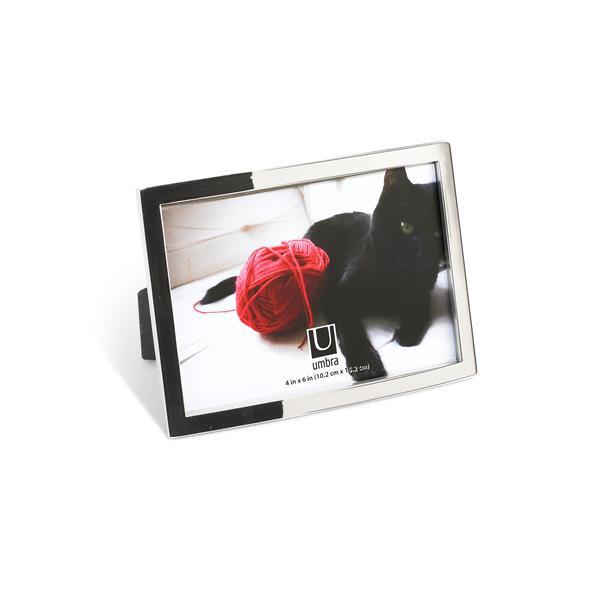 Umbra Senza 4 x 6 Chrome Photo Display