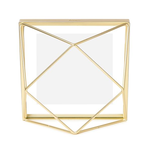 Umbra 4 x 4 Matte Brass Prisma Photo Display