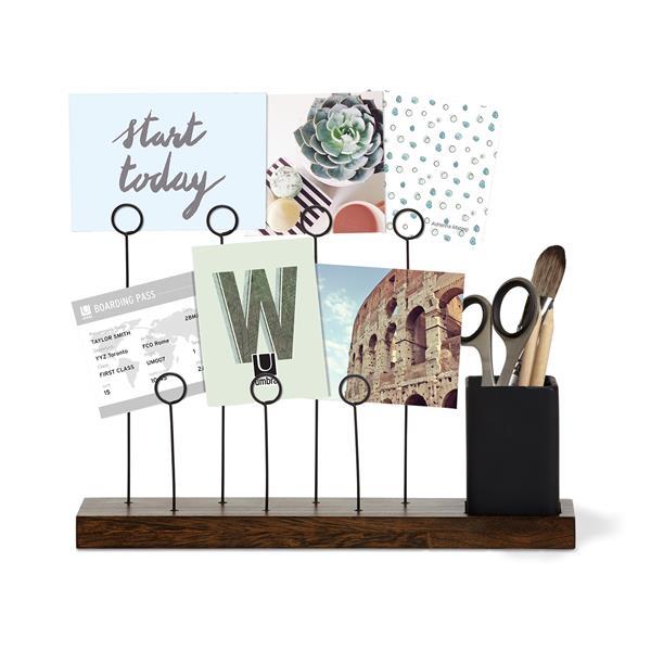 Umbra Aged Walnut Gala Photo Display