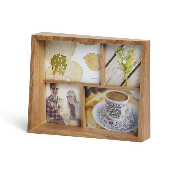 Umbra Natural Wood Edge Picture Frame