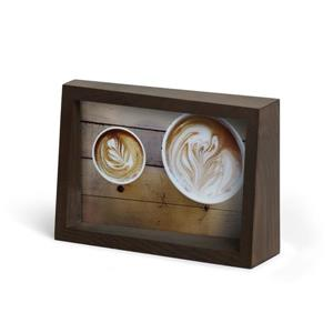 Umbra 4 x 6 Aged Walnut Edge Picture Frame
