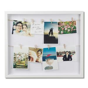Umbra 20-In x 17-In x 1.5-In White Clothesline Photo Display