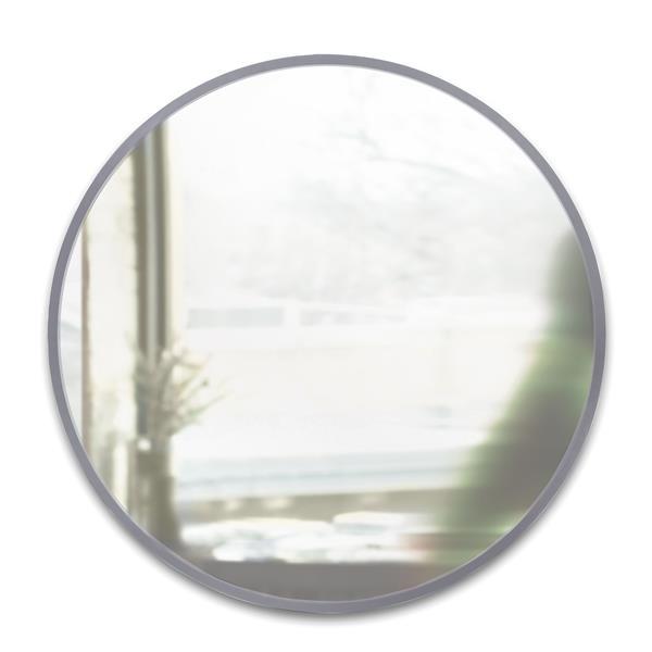 Umbra Grey Hub Wall Mirror