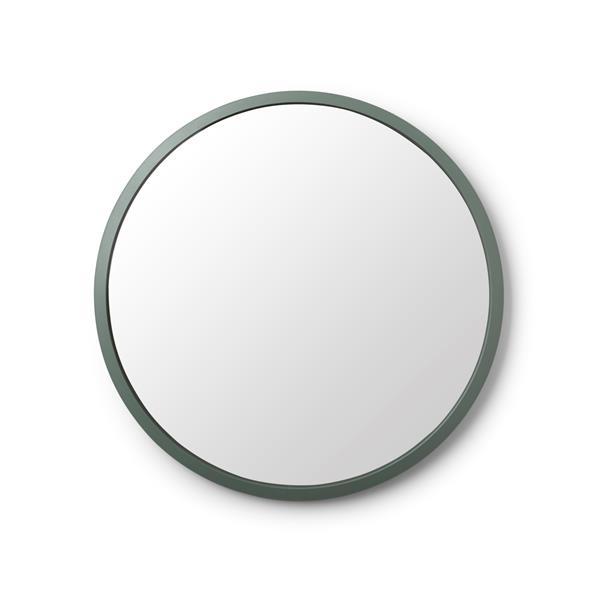 """Miroir Rond Hub de Umbra, 24"""", Vert"""