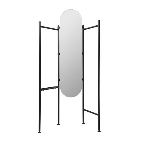 Umbra Black Vala Standing Mirror
