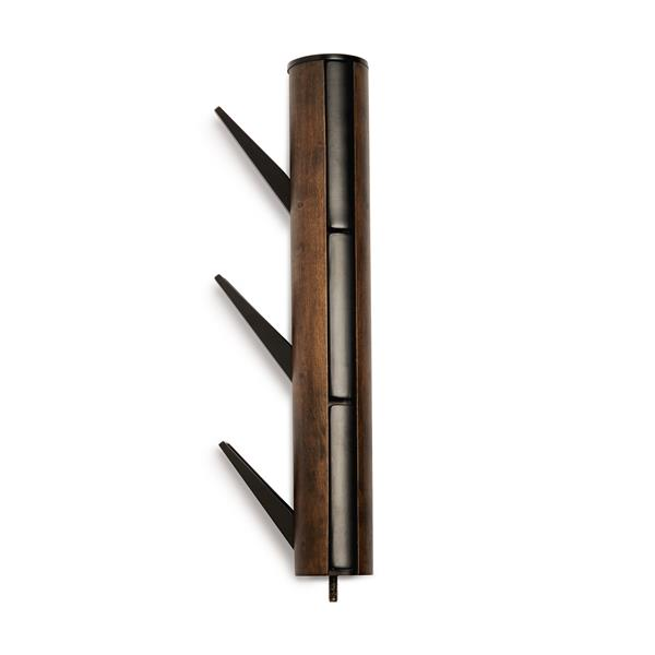 Umbra Flapper Black and Walnut Coat Rack