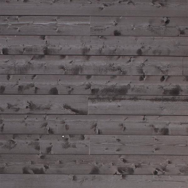 Timberwall 1/2-in x 6-in Vintage Sugi Ban Black Appearance Boards