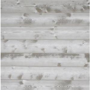 Planches décoratives, blanc magnolia d'époque